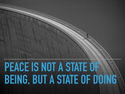 The values of a P.E.A.C.E. builder